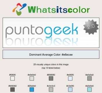 Genera una paleta de colores a partir de una imagen con Whats Its Color