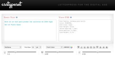 Aplica estilos a tus textos fácilmente con CSS Type Set
