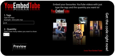 Muestra videos de YouTube de forma más divertida con YouEmbedTube