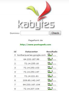 Crea tu propia herramienta para checkear el PageRank