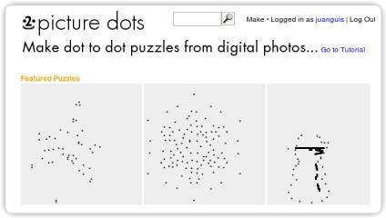 Diviértete creando imágenes uniendo puntos