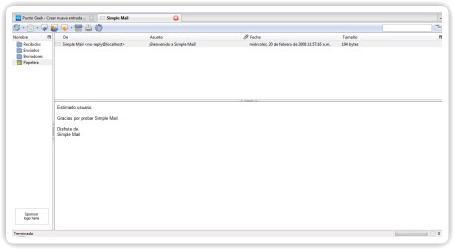 Simple Mail, convierte Firefox en un cliente de correo electrónico