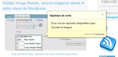 Taggify te permite agregar notas flotantes a las imágenes de tu sitio web