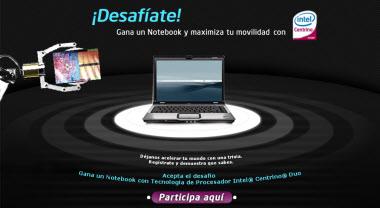 Nuevo concurso de Intel con 4 laptops de premio