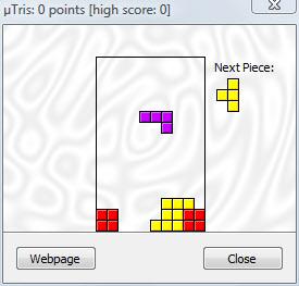 Huevo de Pascua: Jugar al Tetris en uTorrent