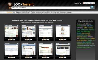 Busca en 25 sitios de torrents gracias a LOOKTorrent