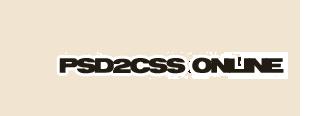 Convertir PSD a CSS online gracias a PSD2CSS Online
