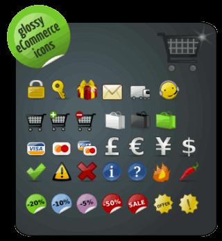 Pack de logos para diseño el de tu eCommerce