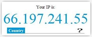 Widget que muestra la IP a tus visitantes