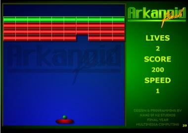 Juego de la semana: Arkanoid