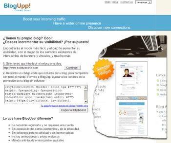 Aumenta las visitas de tu blog con BlogUpp!