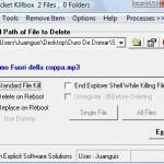 Elimina archivos aún siendo usados por el sistema con KillBox