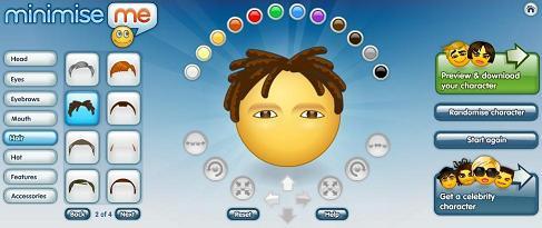 Minimise Me, crea tu avatar para el chat