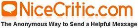 NiceCritic: mensajes anónimos por mail