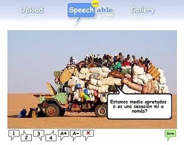 Agrega globos de texto a tus imágenes con Speechable