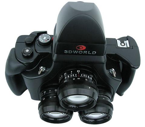 Para fotografiar en 3D