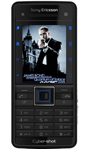 Edición especial de Sony Ericsson C902 Titanium Silver James Bond