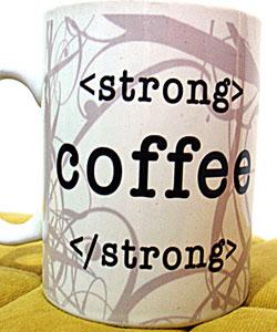 Café fuerte