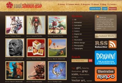 CoolShowcase, galería de arte digital