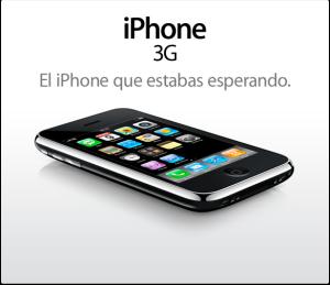El iPhone 3G ya tiene fecha de lanzamiento en Argentina