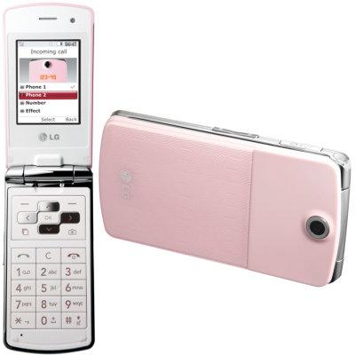 LG KF350, un móvil para ellas