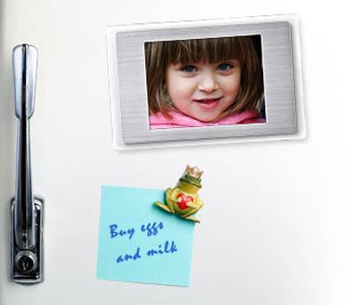 Tus fotos digitales en la heladera