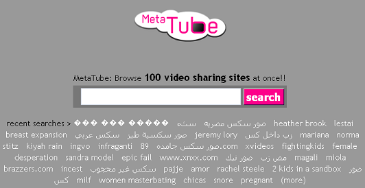 MetaTube, para buscar videos en 100 sitios distintos