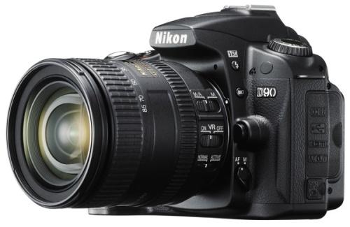 Nueva Nikon D90 de 12,3 megapíxeles