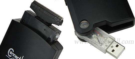 Afeitadora eléctrica USB