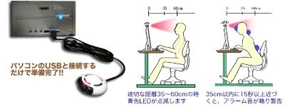 Sensor que te avisa de malas posturas en la PC