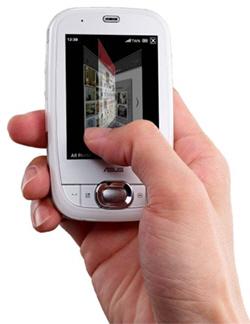 Asus P552w, el primer móvil touchscreen con Asus Glide