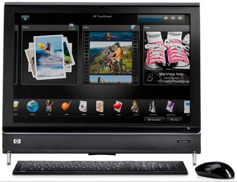 Nuevas HP de 26″ Touchsmart