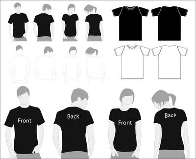 Diseños de camisetas en PSD