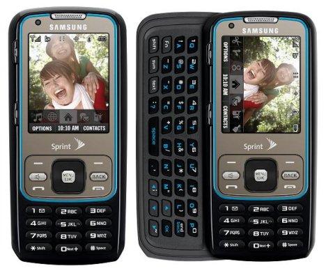 Samsung Rant, un móvil triple B
