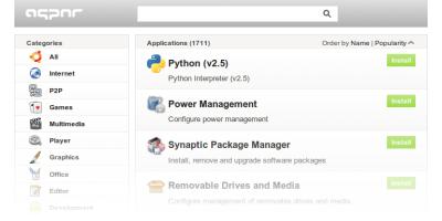 Appnr, directorio de aplicaciones a un click en Ubuntu
