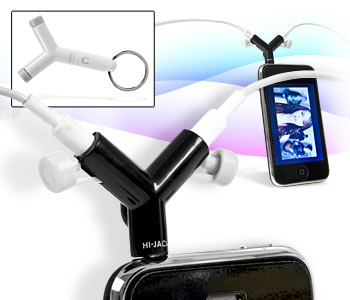 Hi-Jack Headphone Splitter y a compartir nuestra música