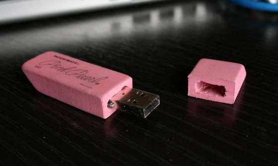 USB hecho de goma