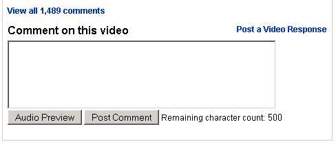 Escuchá tus comentarios de YouTube