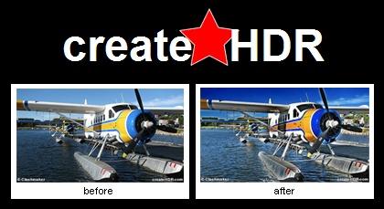 Agrega efecto HDR automáticamente a una imagen con CreateHDR