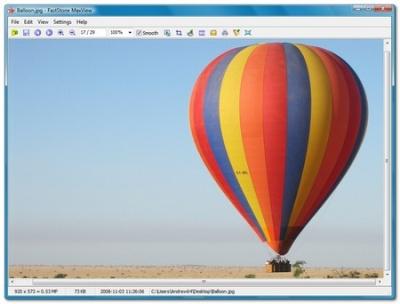 FastStone, rápido y efectivo visor de imágenes