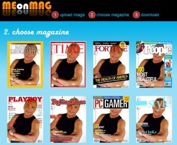 Crea una portada de revista con tu foto gracias a Me On Mag