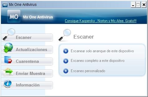 Mx One, antivirus para dispositivos de almacenamiento extraíbles