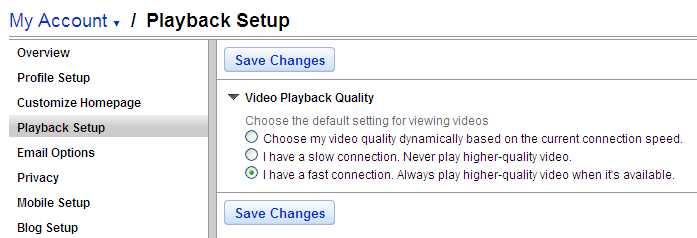 Cómo ver (y embeber) videos de alta calidad en YouTube