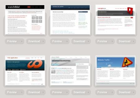 35 plantillas en CSS totalmente gratuitas
