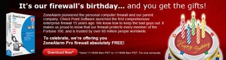 Descargar Zone Alarm PRO gratis