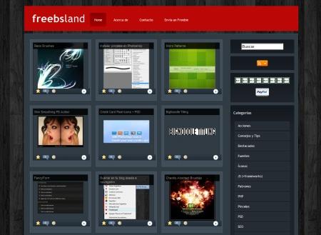 FreebsLand, recursos para webmasters