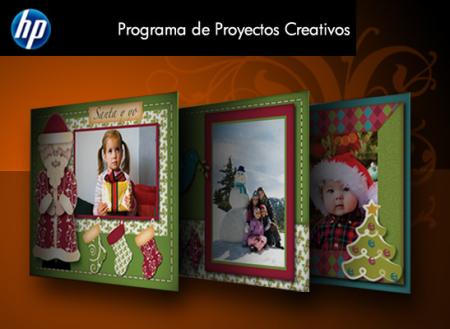 Crea tus tarjetas navideñas gracias a HP