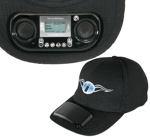 Una gorra con música incorporada