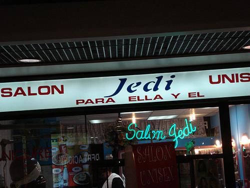 Peluquería Jedi