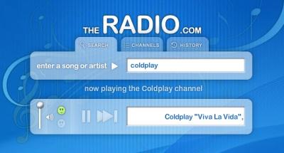 Escucha buena música online con theRadio